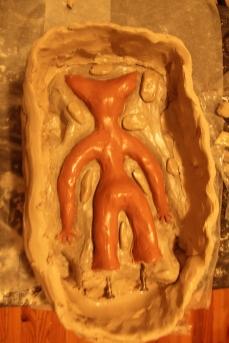 Adora's latex mould - back